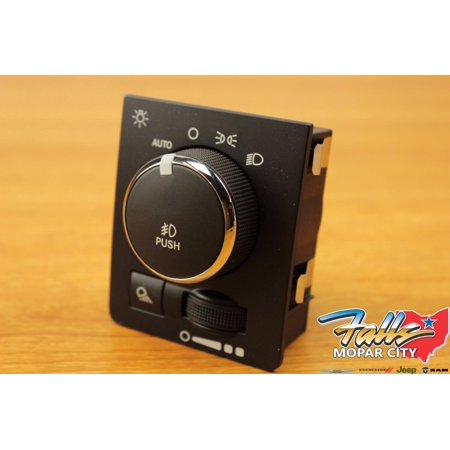 2013-2015 RAM 1500 2500 3500 4400 5500 Headlight Lamp Dash Switch MOPAR OEM