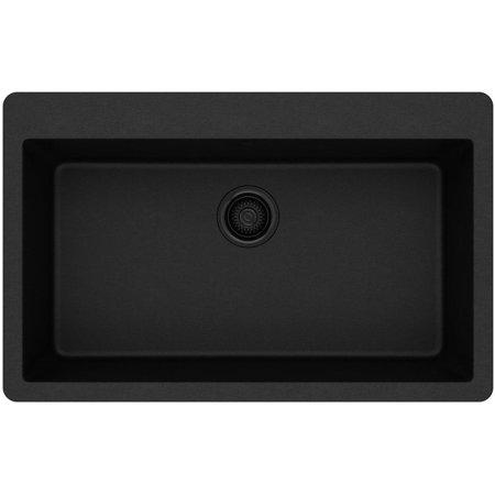 elkay elgr13322 gourmet 33 single basin granite composite kitchen sin
