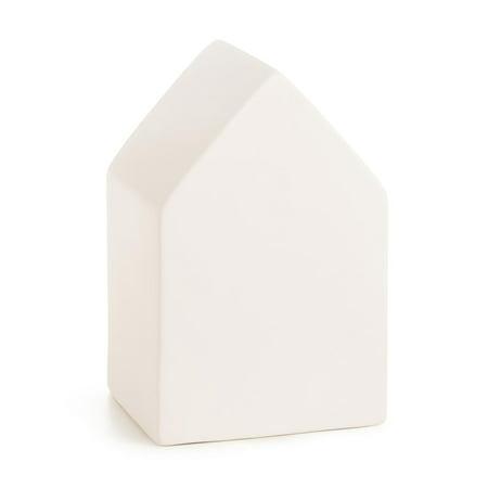 Ceramic House: 4.6 x 7.2 inches