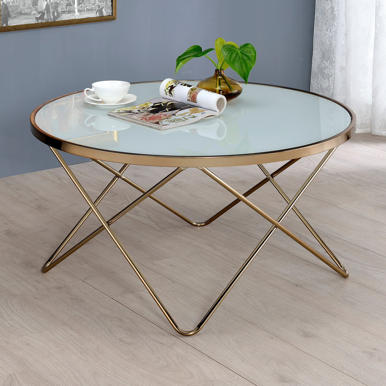 - ACME Valora Coffee Table, Multiple Colors - Walmart.com - Walmart.com