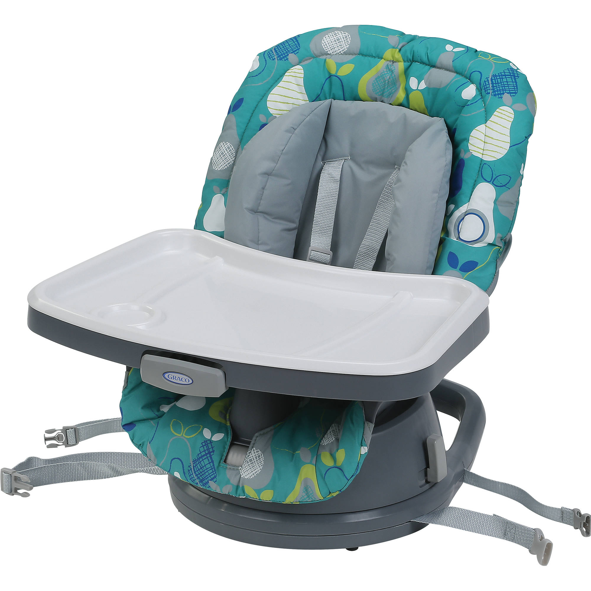 Graco SwiviSeat 3-in-1 High Chair Booster Seat, Tarte