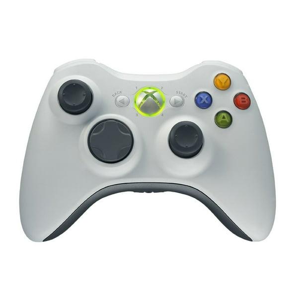 Microsoft Xbox 360 Wireless Controller White Certified Refurbished Walmart Com Walmart Com