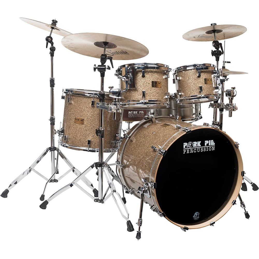 Pork Pie B20 4-Piece Shell Pack with 22 in. Bass Drum