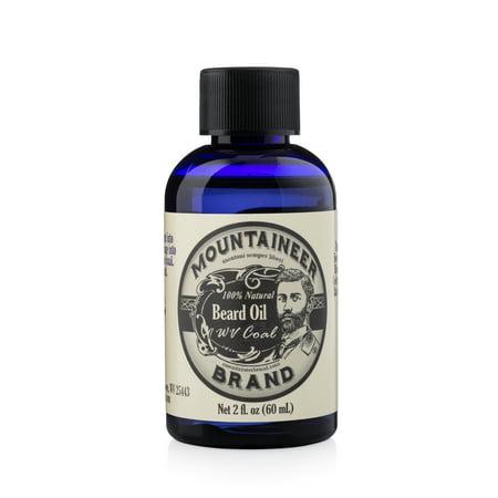 Mountaineer Brand Beard Oil - WV Coal