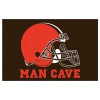 """NFL - Cleveland Browns Man Cave Starter Rug 19""""x30"""""""