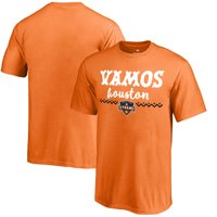 Houston Dynamo Fanatics Branded Youth Hispanic Heritage Let's Go T-Shirt - Orange