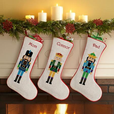 Personalized Dog Stockings (Personalized Nutcracker Christmas)
