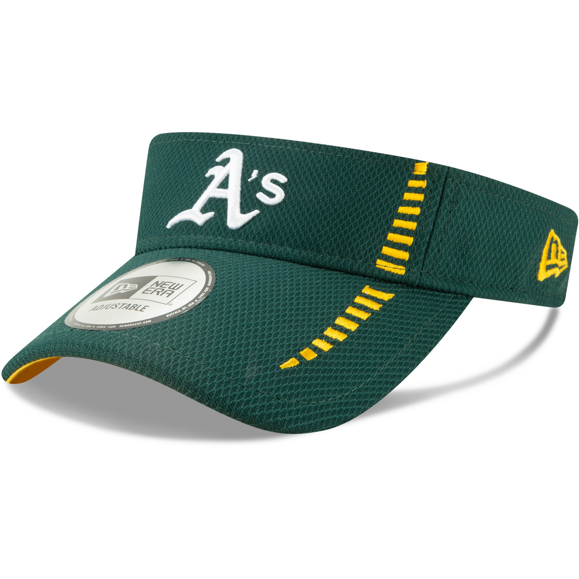 Oakland Athletics New Era Speed Tech Visor - Green - OSFA