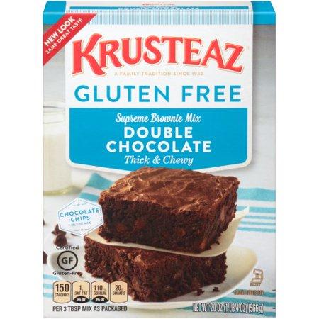 Krusteaz Gluten Free Double Chocolate Brownie Mix Mix Double Chocolate