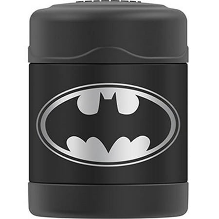 Thermos 10 Ounce Batman Vacuum Insulated Stainless Steel Food Jar