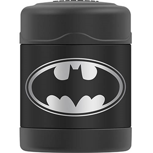 Genuine Thermos Brand Vacuum Insulated Stainless Steel Food Jar, 10 oz, Batman