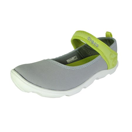 - Crocs Junior Duet Busy Day Mary Jane Shoes