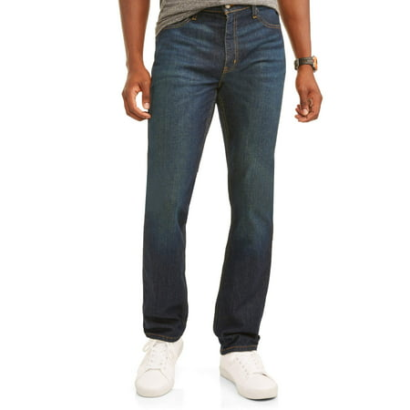 George Men's Straight Fit Jean (Denim Straight Fit Jeans)