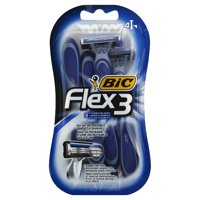 BiC Flex3 Disposable Shavers 4.0 ea(pack of 12)