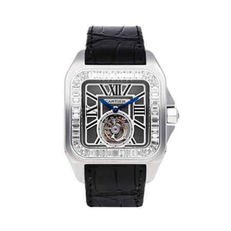 Pre-Owned Cartier Santos 100 XL Tourbillon HPI00312