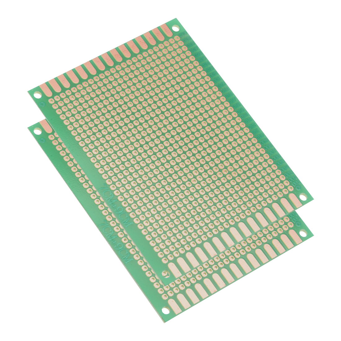 7x9cm Single Sided Universal Printed Circuit Board for DIY Soldering 2pcs