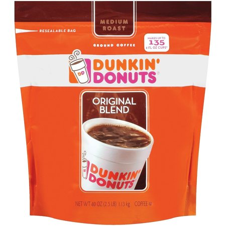 Dunkin' Donuts Original Medium Roast Blend Coffee Basic Pack ()