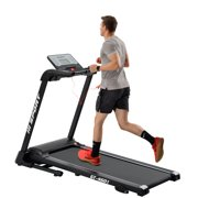 Electric Treadmil, Electric Folding Treadmill with 12 Core Pre-set Workouts Modes, Built-in Speaker Sound System, 240 lb Capacity, Treadmill for Home Gym Indoor