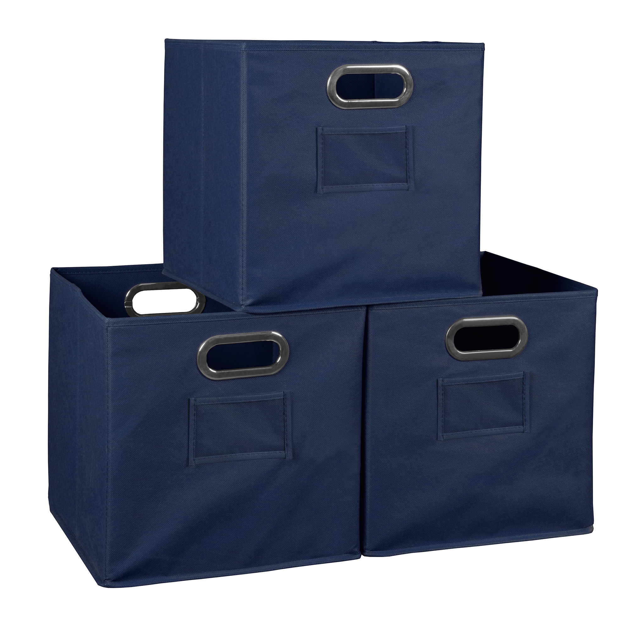 Niche Cubo Foldable Fabric Storage Bin, Set of 3