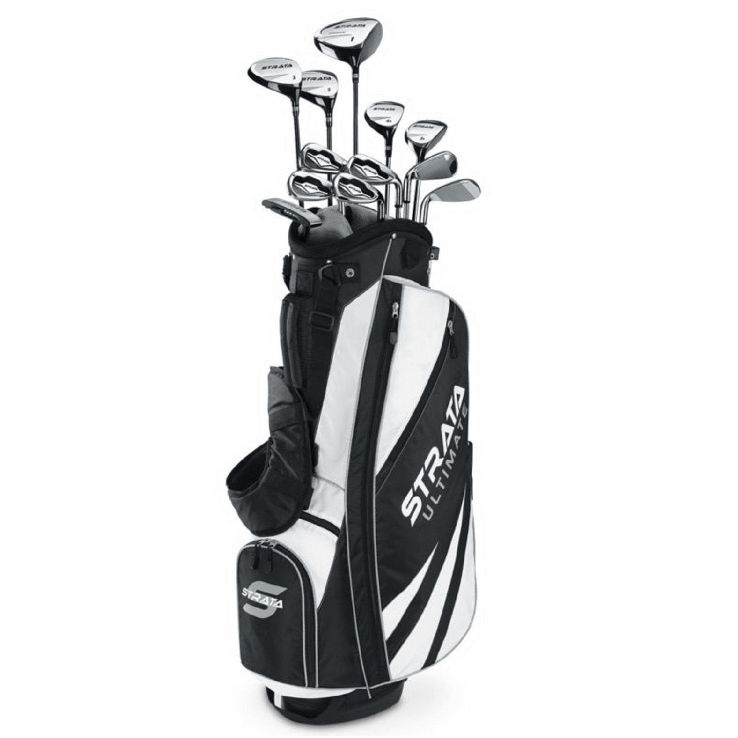 Callaway Strata Ultimate 18 Piece Men's Golf Set, Right Hand by CALLAWAY
