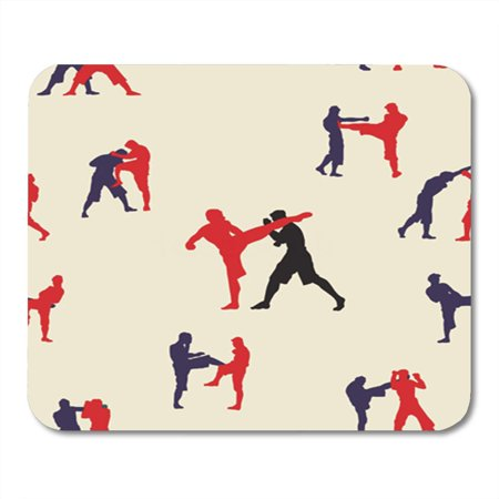 Siam Collection - SIDONKU Pattern Thai Boxing Muay Martial Collection Popular Text Action Mousepad Mouse Pad Mouse Mat 9x10 inch