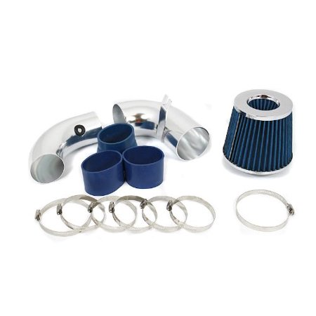 1996 1997 1998 1999 2000 2001 2002 2003 2004 2005 Chevrolet S10 / Blazer 4.3L V6 Cold Air Intake System with Filter - Blue