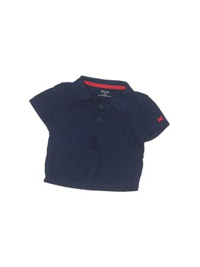 Pre-Owned Little Me Boy's Size 18 Mo Short Sleeve Polo
