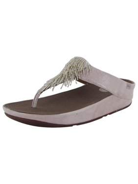 1ec64b8c6717ca Product Image FitFlop Womens Cha Cha Slip On Thong Wedge Sandal Shoes