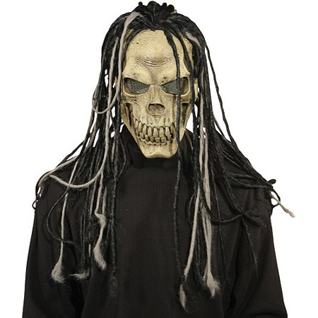 Dead Dread Adult Halloween Mask With Hair (Dead Silence Mask)