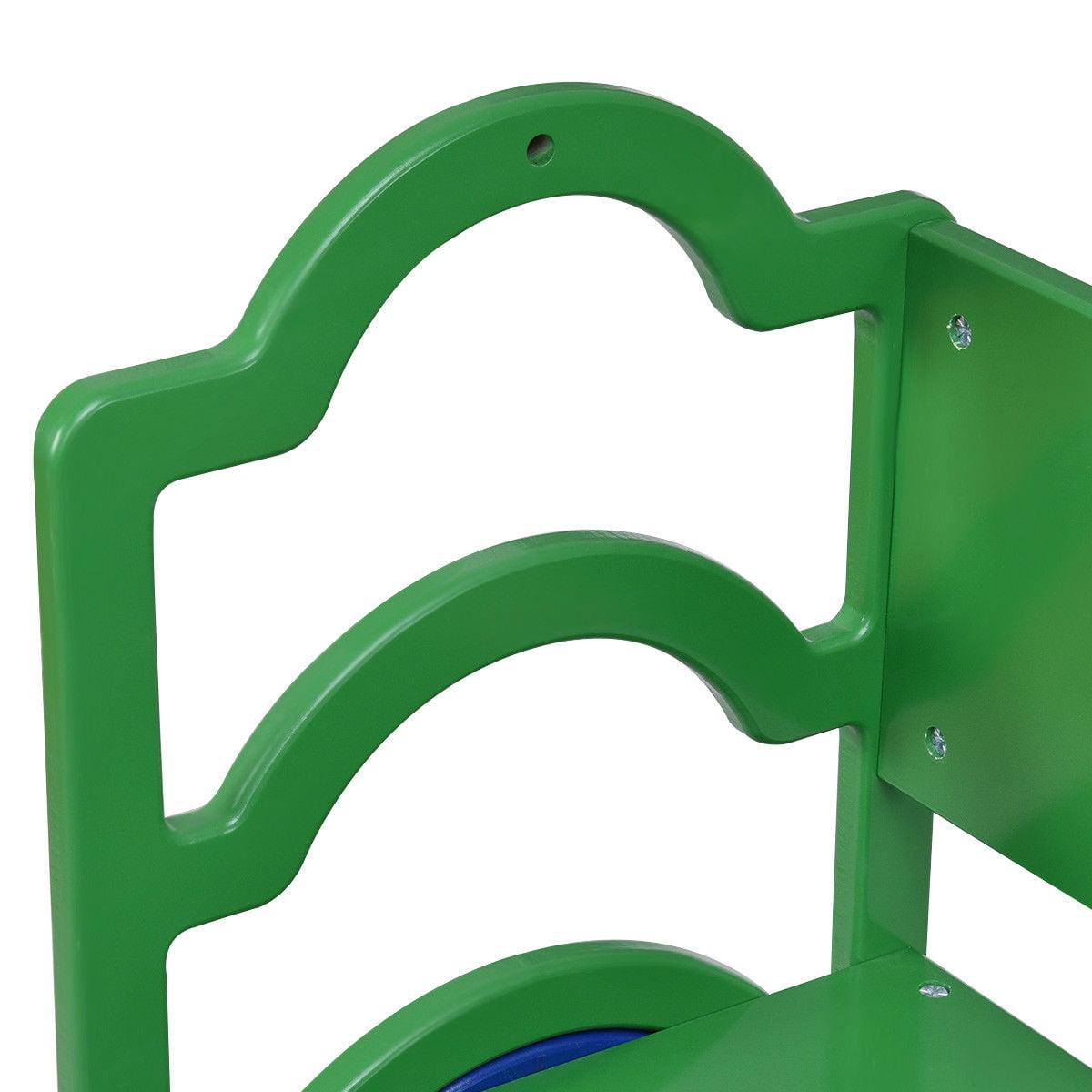 Gymax Kids Book Shelf Storage Rack Organizer Bookcase Display Holder Home Furniture - image 3 of 10