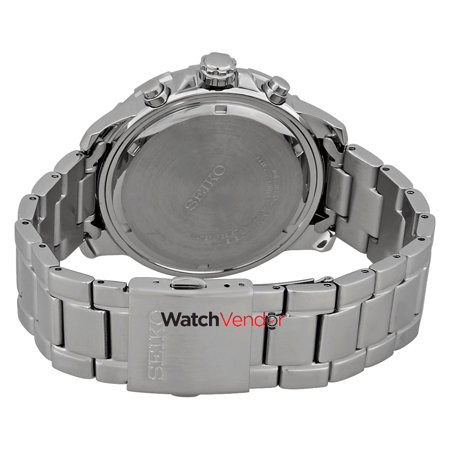 37c8775c5 Seiko Men's Solar Chronograph SSC555 Silver Stainless-Steel Japanese Quartz  Fashion Watch - image 1 ...