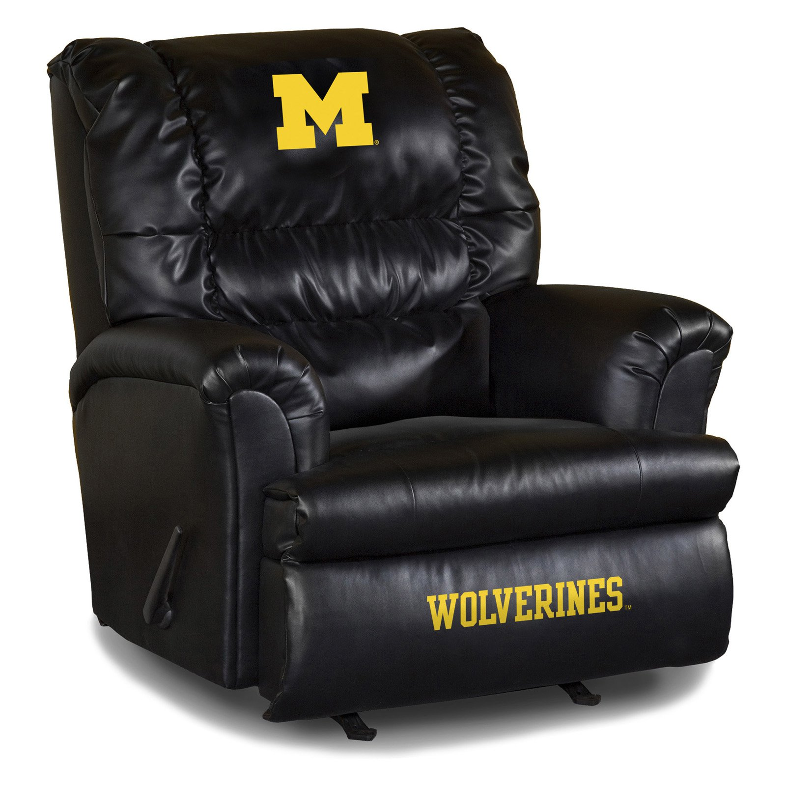 Imperial NCAA Big Daddy Leather Recliner