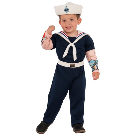 Boys Muscle Man Sailor Costume - Walmart Sailor Costume