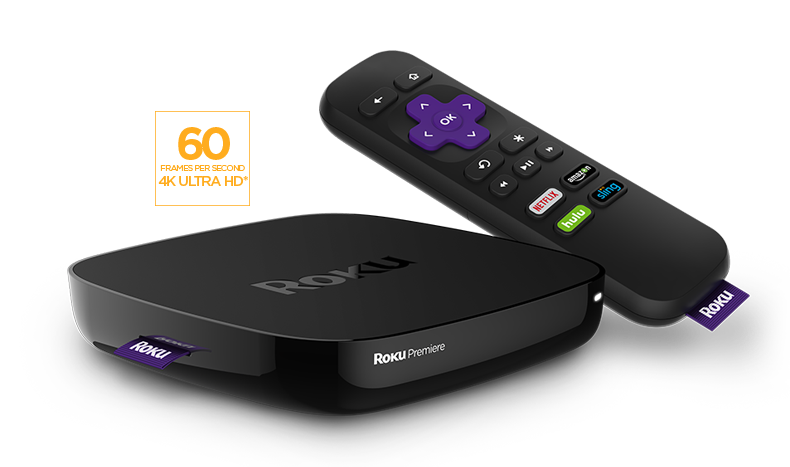 Roku Premiere 4K Ultra HD Streaming Media Player 4620R (2016 Model)