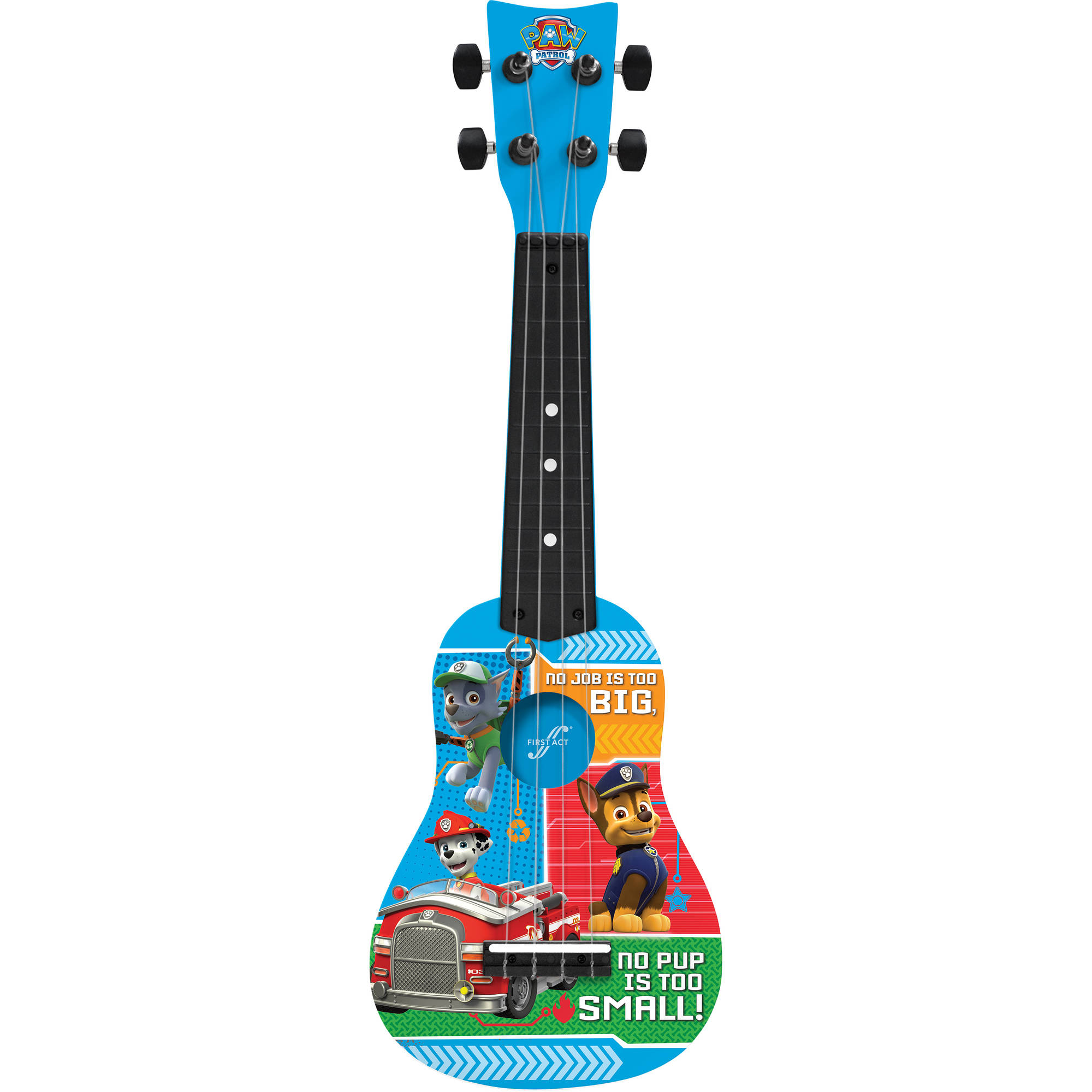 First Act Nickelodeon Paw Patrol Mini Guitar PP286, Blue