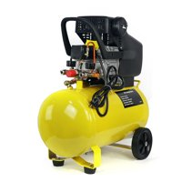 Stark Portable 3.5HP Quiet Air Compressor 10-Gallon Tank Air Compressor Ultra Compressor Wheel