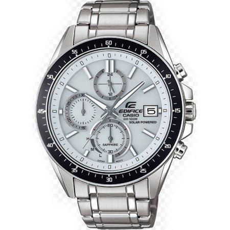 Casio Edifice Chronograph Alarm - Men's Casio Edifice Solar Power Chronograph Watch EFSS510D-7AV
