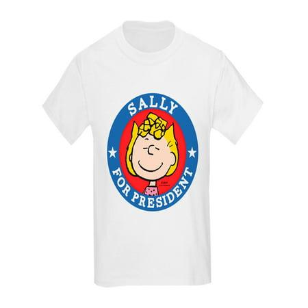 CafePress - Sally For President - Peanuts - Kids Light T-Shirt