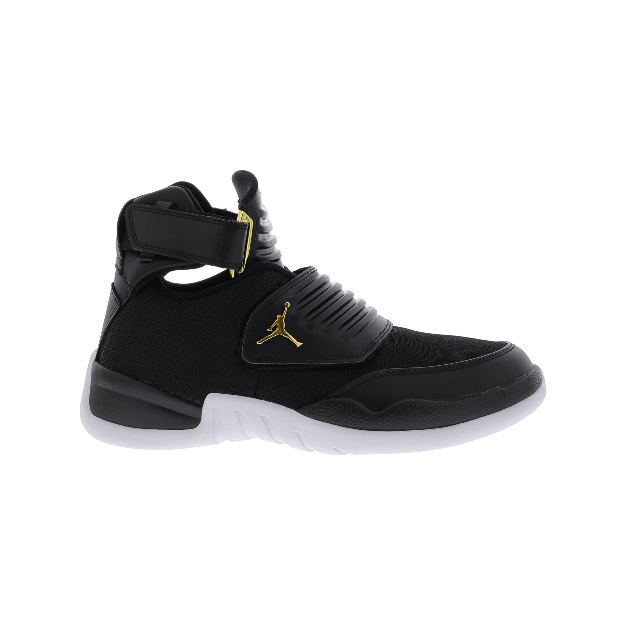 42a1bf6bd4a5b8 Nike Men s Jordan Generation 23 Black   - White Ankle-High Basketball Shoe  9.5M