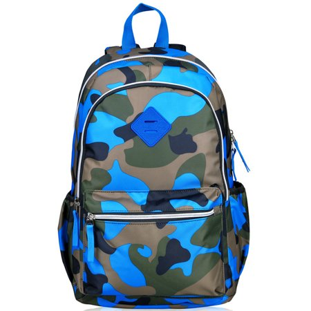 Kids School Bag-Fitbest Kids School Bag Fashionable Schoolbag Camouflage Sports Backpack for Teenages