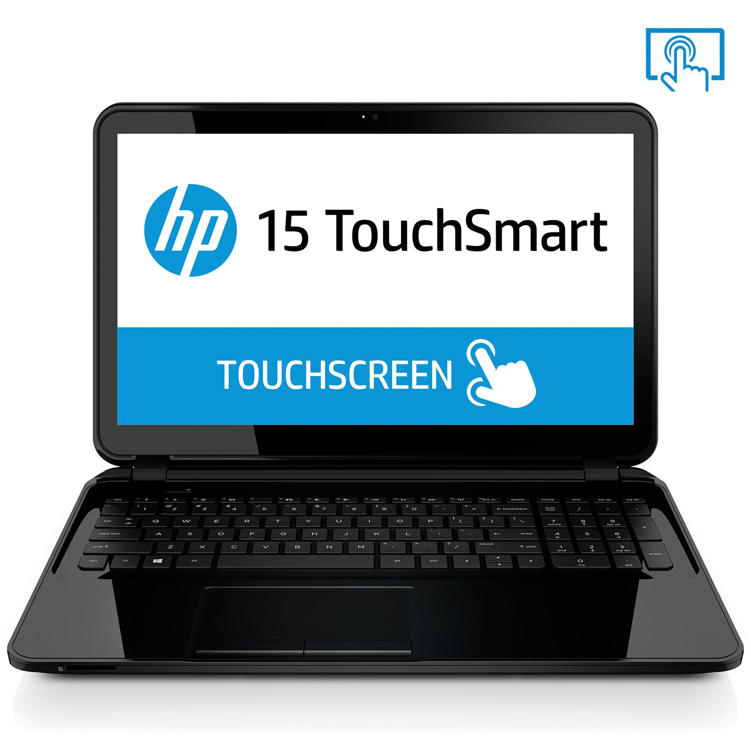 "HP 15-G067CL 15.6"" Touch Laptop Computer, AM A8-6410, 8GB..."