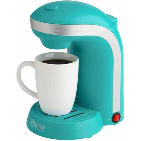 Drip Coffee Maker Vs Single Serve : Kitchen Selectives Single Drip Coffee Maker with Mug - Walmart.com