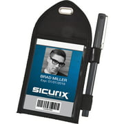 Baumgartens Sicurix Pen Loop ID Badge Holder