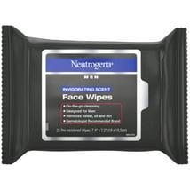 Facial Cleansing Wipes: Neutrogena Men