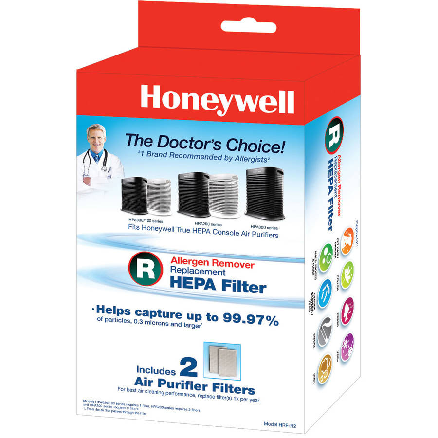 Honeywell True HEPA Replacement Filter R, 2 Pack