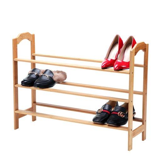 Rebrilliant 10 Pair Shoe Rack