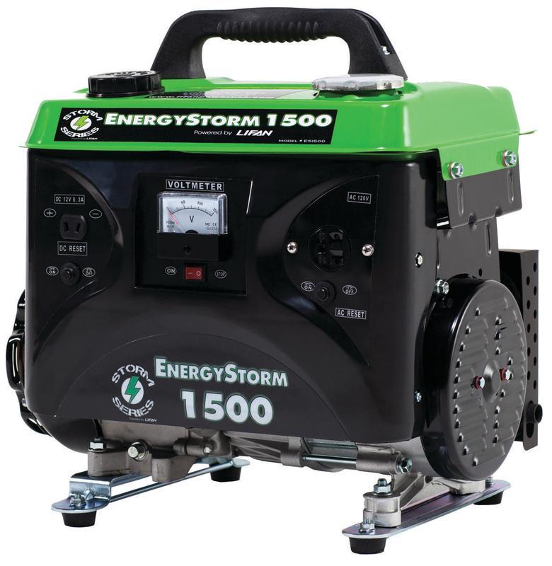 Equipsource EnergyStorm ES1500 Portable Generator, 120 VA...