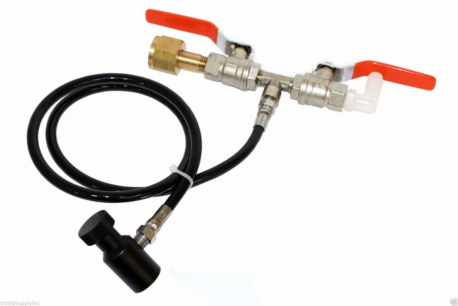 CO2 refill station for DRINKMATE soda maker co2 tanks