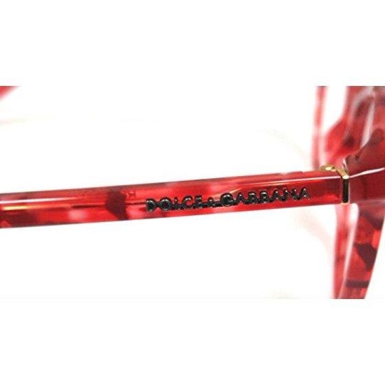 90f0c775c971 Dolce & Gabbana Eyeglasses DG3223 2923 Red Marble 47 18 140 - Walmart.com