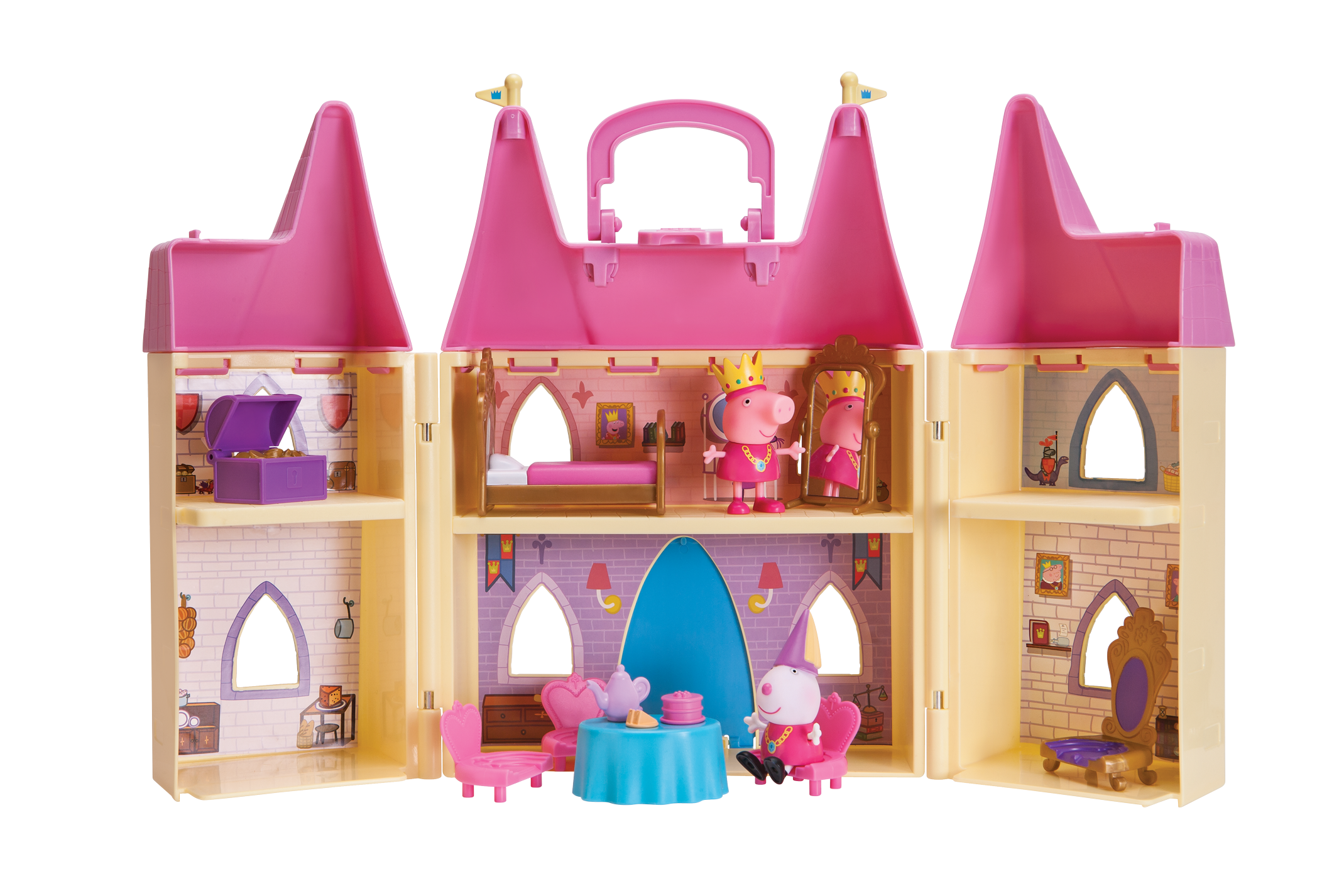 Peppa Princess Castle by Jazwares, LLC.